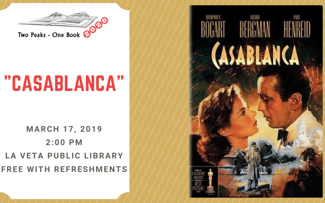 "POSTPONED Film ""Casablanca"""